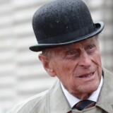 Prins Philip kan nu nyde sit otium uden royale pligter. Reuters/Pool/arkiv