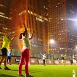Kineserne er vilde med den skandinaviske træning, der har fokus på at have det sjovt.