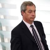 Arkivfoto. Den tidligere Ukip-leder kaldte i februar Malmø for »Europas voldtægtshovedstad« i et britisk radioprogram.