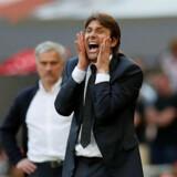 Antonio Conte var træner for Italiens landshold, før han overtog roret i Chelsea. David Klein/Reuters