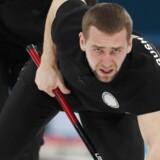Alexander Krushelnitsky havde for store mængder af meldonium i kroppen, da han fejede Rusland til en bronzemedalje i mixed curling. Reuters/Cathal Mcnaughton