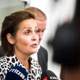 SF og Pia Olsen Dyhr stiger i meningsmålingerne. (Foto: Ólafur Steinar Gestsson/Scanpix 2016)