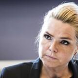 Udlændinge- og integrationsminister Inger Støjberg (V) mener, at regeringens stramninger af udlændingepolitikken siden 2015 har været medvirkende til, at færre søger asyl.