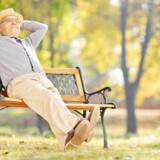 »At være 80 er absolut bedre end at være 70. Er du i 70erne, er folk lidt sure på dig for alt, hvad du gør forkert. Ved 80 har du en perfekt undskyldning, uanset hvad du gør.« Modelfoto