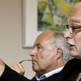 Tidligere bestyrelsesformand Flemming Østergaard og tidligere direktør Jørgen Glistrup fra Parken Sport og Entertainment blev torsdag 23. marts idømt fængselsstraf for kursmanipulation.