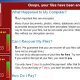 (ARKIV) A screenshot shows a WannaCry ransomware demand, provided by cyber security firm Symantec, in Mountain View, California, U.S. May 15, 2017. Courtesy of Symantec/Handout.Se Ritzau: Globalt cyberangreb ebber ud trods flere løsepenge. Tirsdag ser det globale it-angreb, der via programmet WannaCry låser computere og kræver løsepenge, ud til at være ved at være igennem sin værste hærgen.