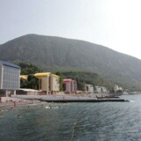 Arkivfoto: Morskoi camp, Yalta, Krim. 11. maj 2017.