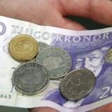 Arkivfoto. Svenske penge, sedler og mønter.