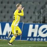 Jeppe Kjær sænkede AGF, hvor han tidligere har spillet uden den store succes. Scanpix/Henning Bagger