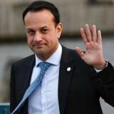 »Jeg er overrasket og skuffet over, at den britiske regering ikke har været i stand til at indgå en aftale i dag,« siger premierminister Leo Varadkar på et pressemøde.