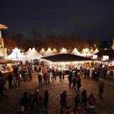 Julemarkedet ved Charlottenburg Palace i Berlin, Tyskland 6. december 2017.