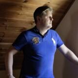 Nicolai Stokholm Sondrup-Ottsen var udsendt med Lars Kragh og lider af posttraumatisk stress syndrom (PTSD). Her er han fotograferet i sit hjem i Horsens.