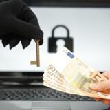 Computervira, der begynder at kode alle ens vigtige filer og kræve løsesum for at kunne låse dem op igen, har ramt mange danske virksomheder og myndigheder og ses på med meget stor alvor som en stor trussel. Arkivfoto: Shutterstock/Scanpix