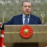 Præsident Erdogan mener, at det var Fethullah Gülen, som planlagde at kuppe regeringen 15. juli sidste år.