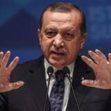 Tyrkiets præsident, Recep Tayyip Erdogan, beskylder Tyskland for at bruge metoder fra nazismens tid
