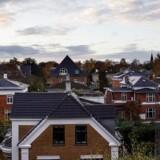 Boligkvarter på Frederiksberg. En stigende andel af danskernes boliglån er af den fastforrentede slags, selv om renten kun er gået én vej.