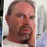 Jørgen Kragh (t.v.) og Kirsten Kragh (t.h.) er tirsdag blevet fundet dræbt i deres bil. Sønnen Lars Kragh (i midten) er sigtet for mordet.