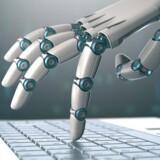 I løbet af de næste 20 år vil robotterne overtage 35 pct. af alle job - og herfra vil tallet kun stige betragteligt. Den udfordring bør vi allerede nu tage hånd om. Illustration: Iris.