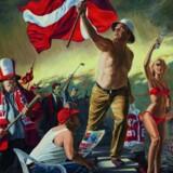Peter Carlsen »Lille Danmark 2009«. Illustrationer: Trapholt