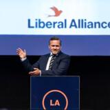 Udenrigsminister og politisk leder Anders Samuelsen. Liberal Alliances landsmøde 2017. Aalborg Kongres & Kultur Center.