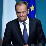 Sammenhold en nøglen til at nå at blive færdig med den britiske exit fra EU til tiden, mener Donald Tusk.