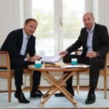 Jim Hagemann og Mikael Trolle, forfattere til bogen dreams & details.