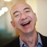 Arkivfoto. Jeff Bezos scorede 15 milliarder kroner på Black Friday, og han er nu verdens rigeste foran Bill Gates.