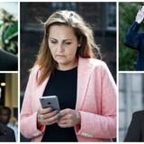 Pia Olsen Dyhr, Mogens Camre, Mogens Lykketoft, Thomas Danielsen og Finn Thranum har tidligere været ude med hårde meldinger, de senere har måttet beklage.