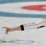 Madeleine Dupont er godt tilfreds med mandagens præstationer i Pyeongchang. Scanpix/Natacha Pisarenko