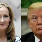 Donald Trump har atter været i clinch med Harry Potter-forfatteren J.K. Rowlings.