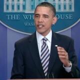Forhenværende præsident Barack Obama har sat sin underskrift på en særdeles indbringende bogaftale. Arkivfoto. Free