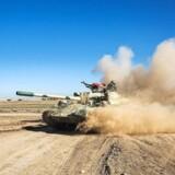 Arkivfoto. Irakiske styrker satte søndag den endelige offensiv mod Islamisk Stat i den vestlige del af Mosul i gang. Frygt for store civile tab.