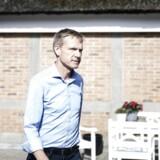 Formand Kristian Thulesen Dahl til DFs sommermødel i Sorø, mandag den 7. august.