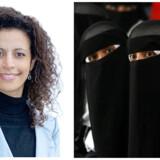 Latifa Ljørring mener, vi er i krig med det ekstreme islam, og hun nævner i den forbindelse barnebrude. Til højre ses et billede af 15-årige piger i Yemen. Et land, der er kendt for barnebrude blandt fattige stammer.