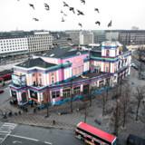 Palads-biografen i København er truet af nedrivning. Den 6. februar 2017 skal teknik- og miljøudvalget tage stilling.. (Foto: Ida Guldbæk Arentsen/Scanpix 2017)