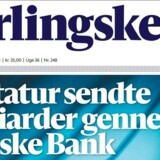 Læs her hvordan Berlingske har arbejdet med projektet Diktaturets Danske Bank.