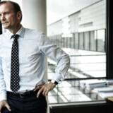 Arkivfoto: Det spår DFDS' topchef, Niels Smedegaard, der foreløbig ikke har nogen nødplaner i skuffen.