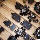 På Ørestad Gymnasium er andelen af elever med anden etnisk baggrund end dansk steget fra 15 procent i 2005 til 36 procent i år, efter en ny optagelsesbekendtgørelse i 2012 pålagde alle gymnasier at optage de nærmestboende ansøgere.