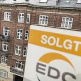 Der er ikke sat nogen boligsalgsrekorder i år. Her ses en solgt lejlighed fra EDC-mæglerne.