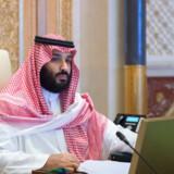 Saudi-Arabiens kronprins, Mohammed bin Salman, satte sidste år gang i en omfattende kamp mod korruption. Reuters/Handout/arkiv