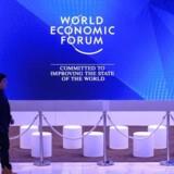 Billede fra Davos-topmøde.