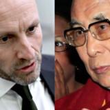 Udenrigsminister Martin Lidegaard vil ikke mødes med Tibets åndelige leder, Dalai Lama
