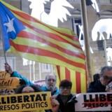 Forsøget på at løsrive Catalonien har slidt på det mentale helbred, men nu vil Barcelona kommune gøre noget ved det. / AFP PHOTO / PAU BARRENA