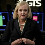 »Der er ingen risiko for, at jeg går over til en konkurrent - ingen risiko,« fastslår den afgående HP-topchef Meg Whitman. Foto: Brendan McDermid/Reuters