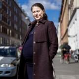 Sisse Marie Welling er SFs spidskandidat i København ved kommunalvalget. Her fotograferet i Jægersborggade, hvor hun bor.