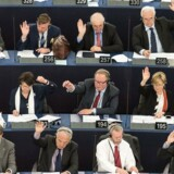 Arkivfoto fra Europa Parlamentet