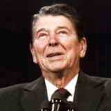 Ronald Reagans ekspansive finanspolitik ventes tilbage. Foto: AP