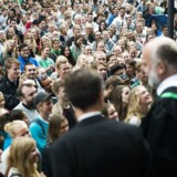 ARKIVFOTO Immatrikulationsfesten fredag den 2. september 2016 på Københavns Universitet på Frue Plads.