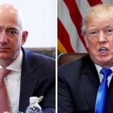 Amazon-milliardæren Jeff Bezos tackler Donald Trumps mange Twitter-angreb med larmende tavshed.