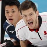 Japan var for stærke for Rasmus Stjerne og de øvrige danskere ved vinter-OL. Reuters/Cathal Mcnaughton